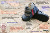 A supinált cipő segítség a lábnak
