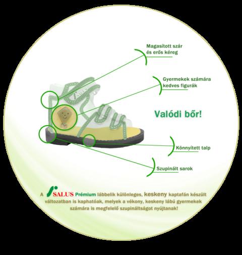 Salus supinált cipő
