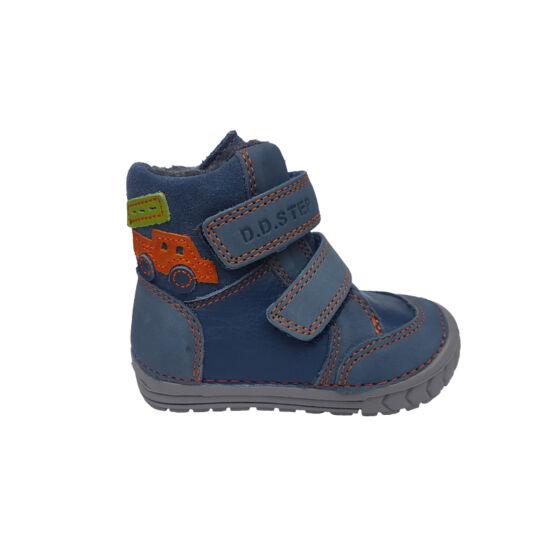 Kék autós DD Step téli gyerek cipő 3cb050664c