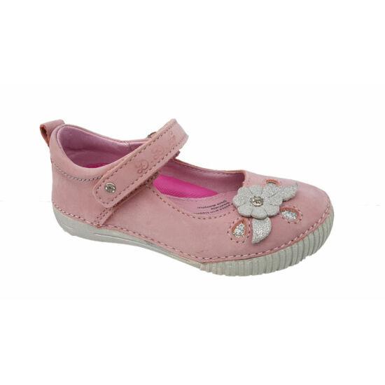 Csillogó virágos DD Step kislány cipő a24f6d3fa0