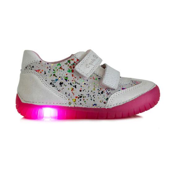 Led világítós DD Step kislány cipő 050-4 546973386f