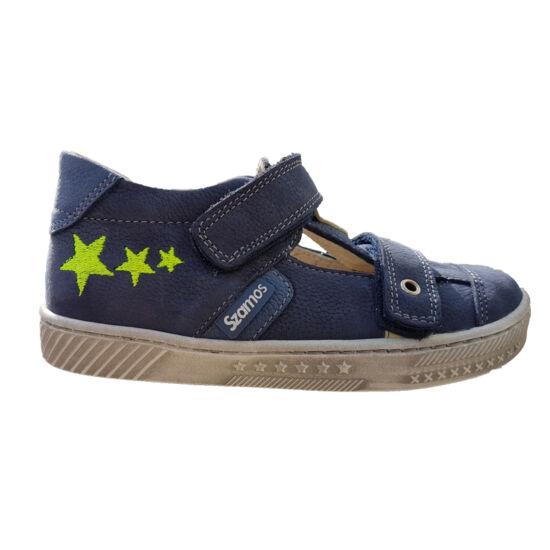Szamos tavaszi nyitott cipő fiúknak. Hímzett csillagokkal. e6c730dea1