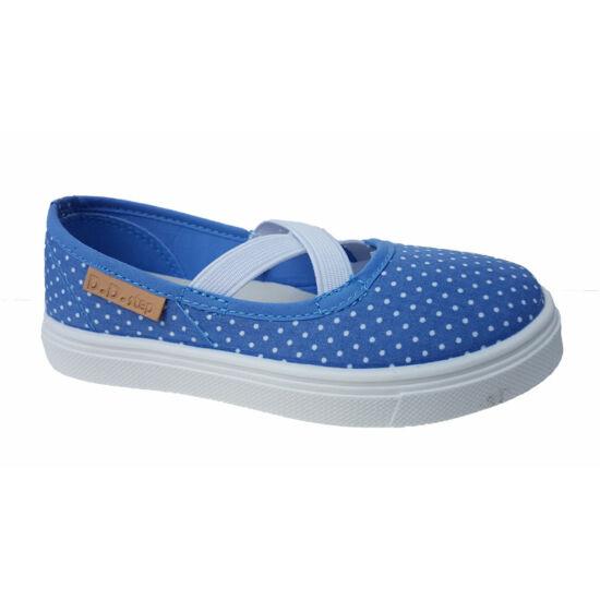 310a23109c Kék pöttyös DD Step vászoncipő
