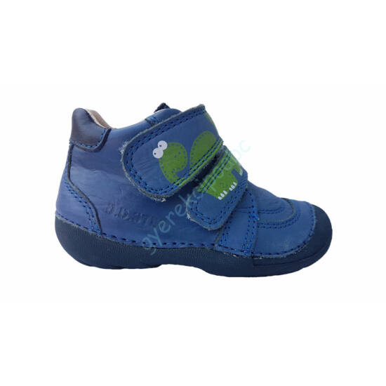 D.D.Step cipő, kék-dínós