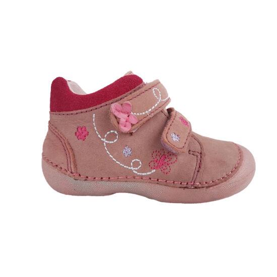 dd step kislány cipő pillangós virágos