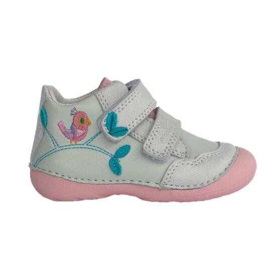 dd step kislány cipő kismadaras hímzéssel