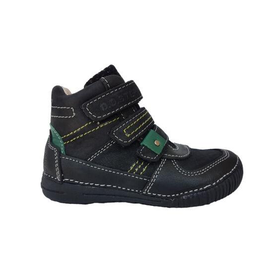 DD Step fekete szürke fiú őszi cipő
