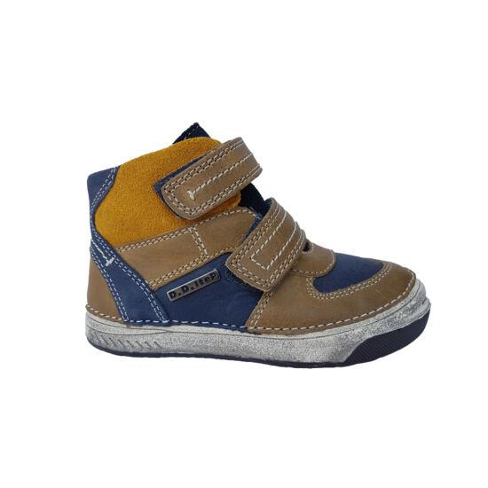 Barna - kék- mustár DD Step cipő