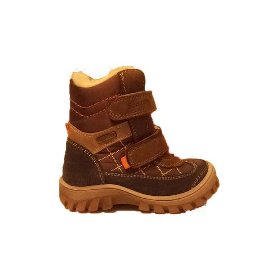 Szamos téli cipő, 1156-199521 Vízálló téli fiú bakancs