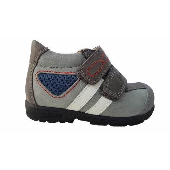 Szürke Szamos supinált cipő kisfiúknak