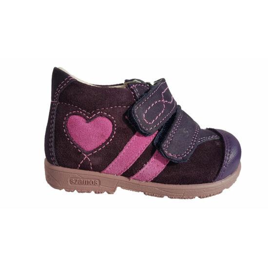 Pink szíves Szamos supinált cipő kisfiúknak