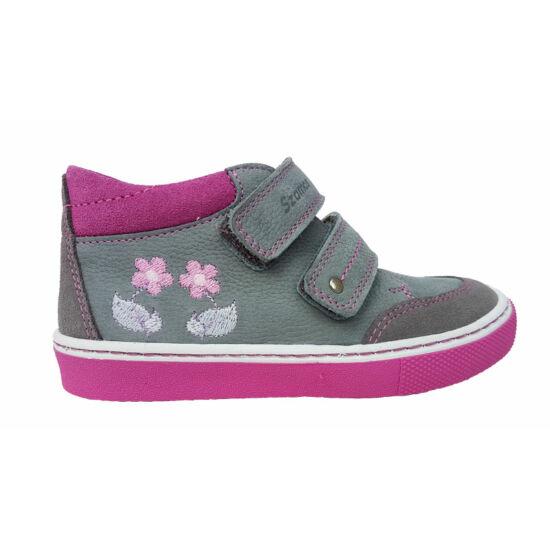 Virágos Szamos kislány cipő