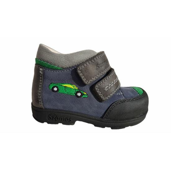 Versenyautós Szamos supinált cipő kisfiúknak