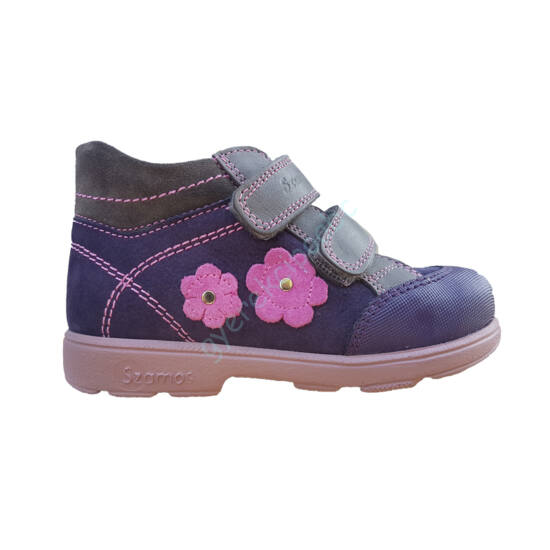 Virágos Szamos supinált cipő