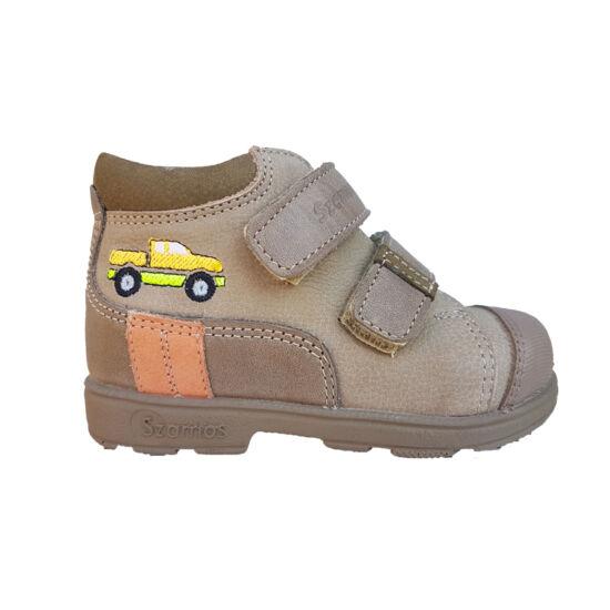 Autós Szamos supinált cipő kisfiúknak