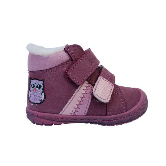 Baglyos Szamos első lépés téli kislány cipő