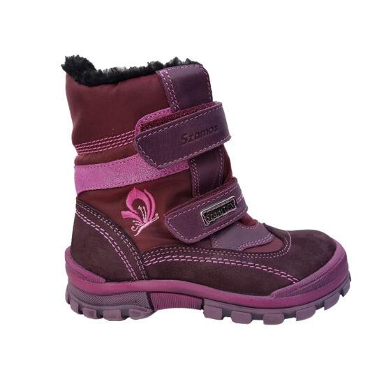 Szamos vízálló téli lány cipő