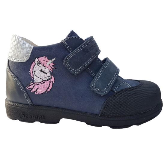 Unikornisos Szamos supinált kislány cipő