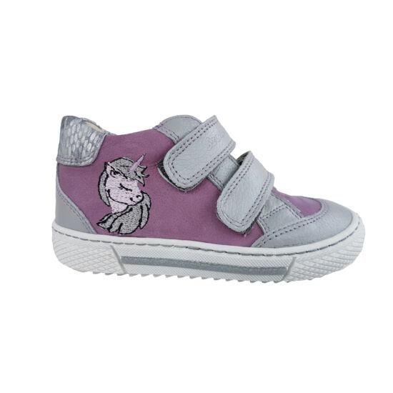 unikornis lila szürke szamos kislány tavaszi cipő