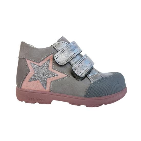 Csillogós Szamos supinált kislány cipő