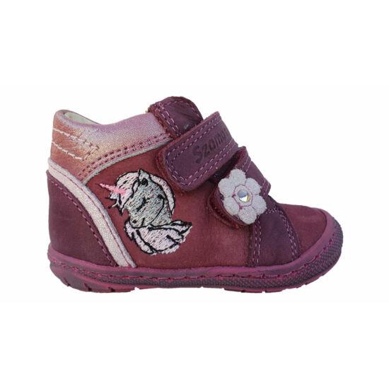Unikornisos Szamos baba első lépés cipő