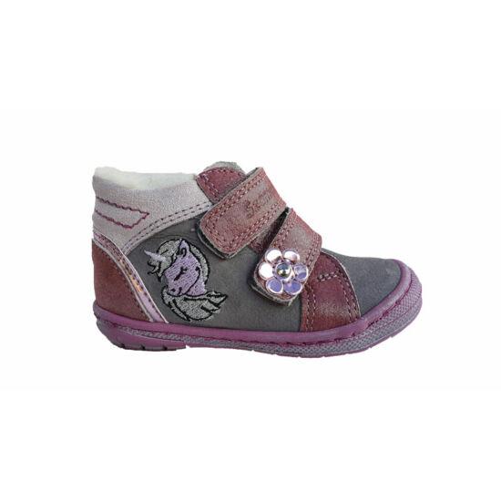 Unikornisos téli Szamos baba első lépés cipő