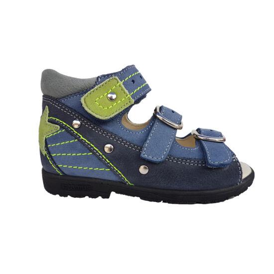 Kék-zöld Szamos supinált fiú szandál 4221-207091 - gyerekcipoabc.hu cf04600ea6