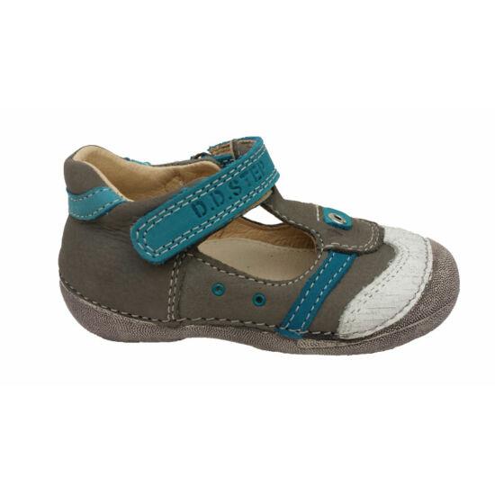 D.D.Step szandálcipő,szürke-kék