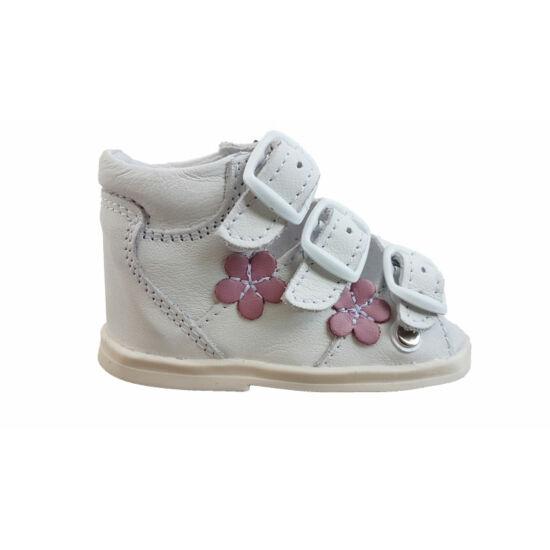 Pink virágos Maus első lépés szandál K-112r - gyerekcipoabc.hu 5bd655cb45
