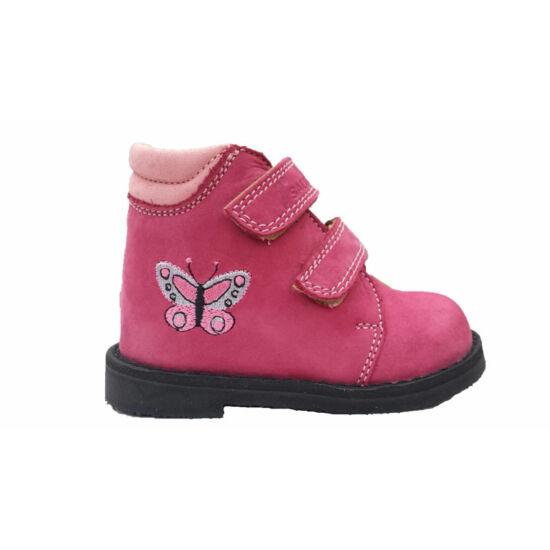 Salus supinált cipő  hímzett pillangóval