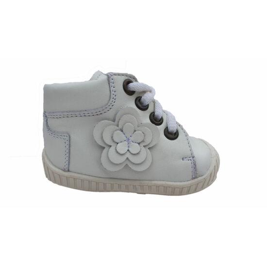 Fehér első lépés cipő Maus