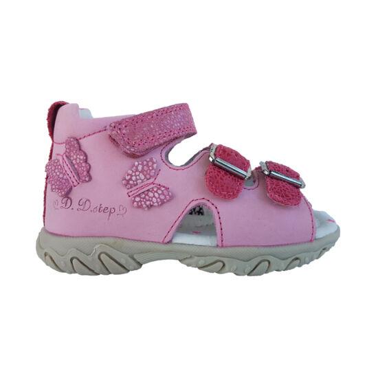 DD Step gyerek szandál, rózsaszín színben