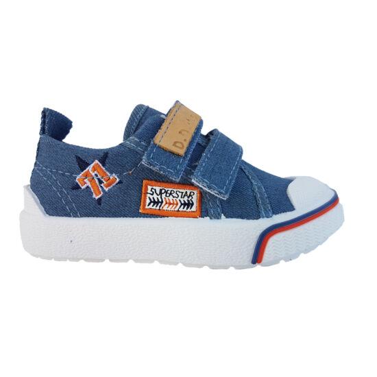 Bermuda kék DD Step fiú vászoncipő
