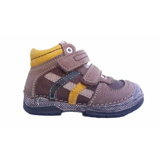 D.D.Step fiú bőr cipő
