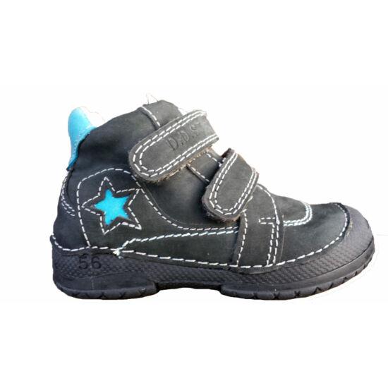 D.D.Step átmeneti gyerek cipő,  kék csillagos