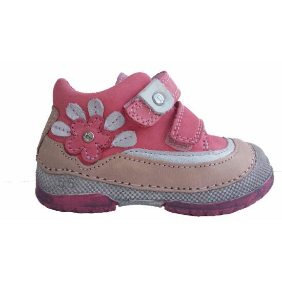 D.D.Step lány cipő,páva fark szerű virággal