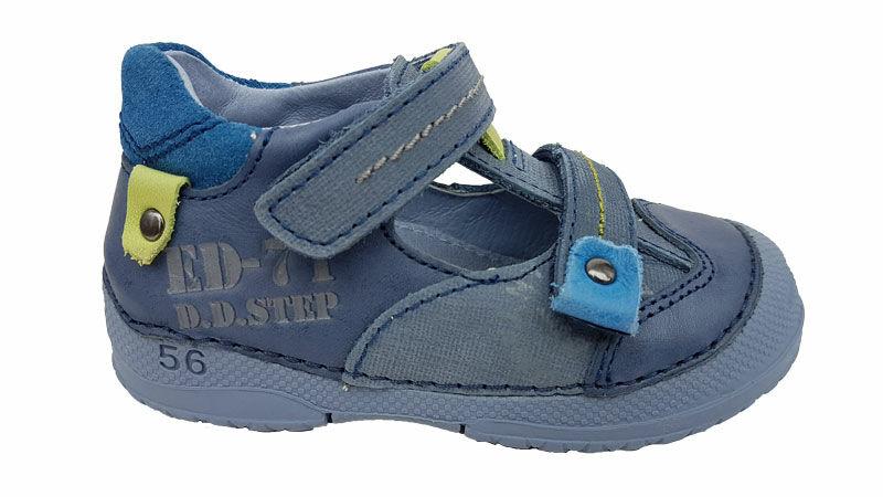 Kék zöld DD Step fiú szandálcipő
