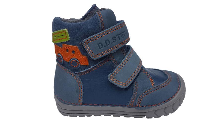 Kék autós DD Step téli gyerek cipő 029-73A - gyerekcipoabc.hu 15a2eee143