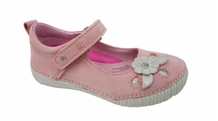 Csillogó virágos DD Step kislány cipő - gyerekcipoabc.hu 131a74f07c