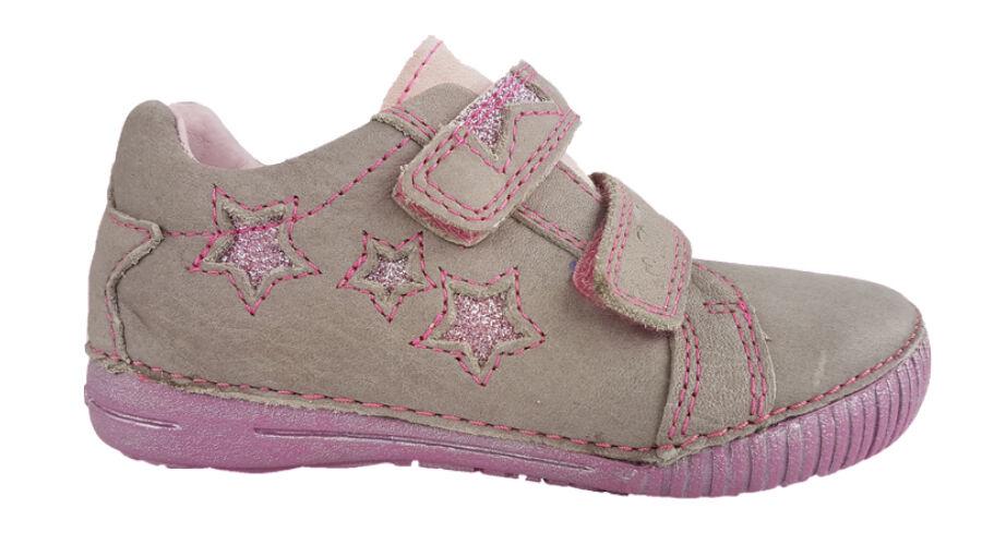 ae64b835d065 Szürke - csillagos DD Step lány cipő 036-703 - gyerekcipoabc.hu