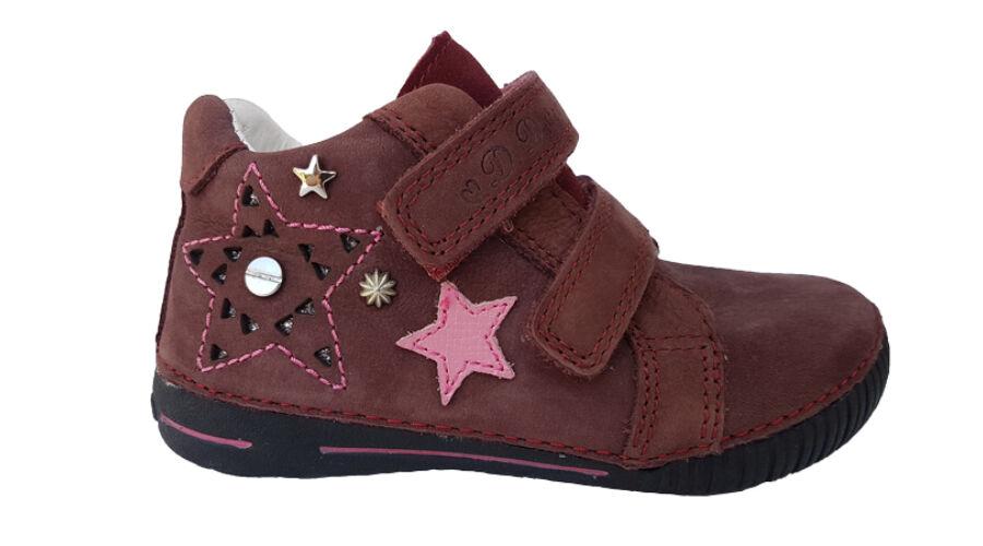 Bordó csillagos dd step lány cipő 036-70AM - gyerekcipoabc.hu 13dc4c183d