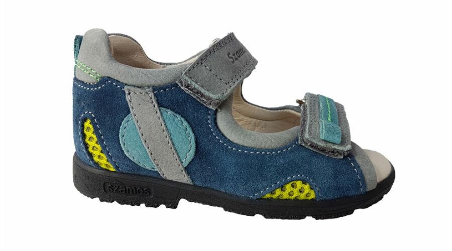 Kék supinált gyerek szandál 4191-207091 - gyerekcipoabc.hu db072d35fc