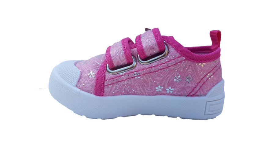 Pink DD Step kislány vászoncipő CSG-120A - gyerekcipoabc.hu 729da9b860