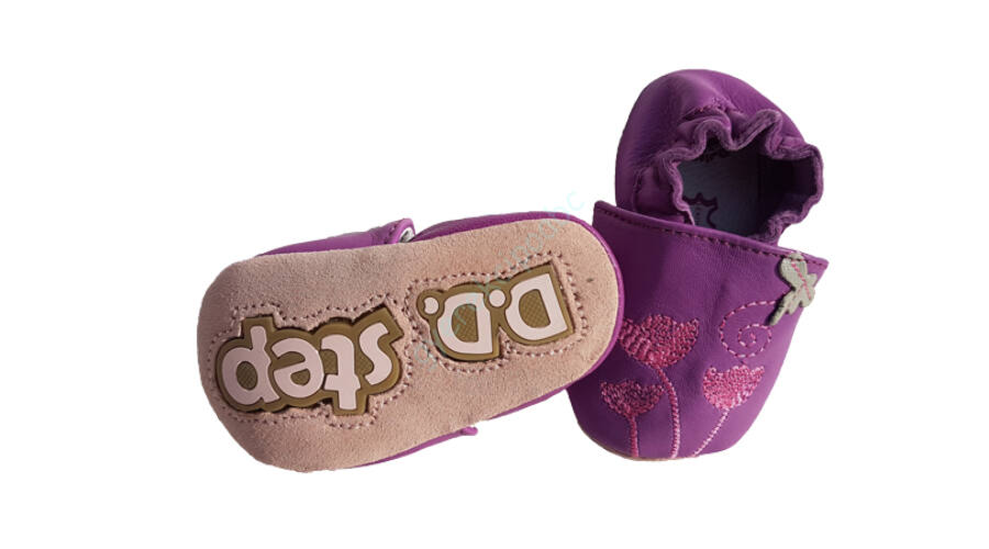 D.D.Step puhatalpú babacipő K-1596-27A - bébi cipő c557162a7a