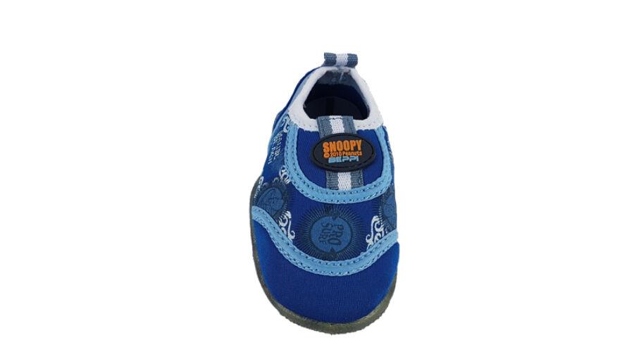 Gyerek fiú vizicipő Snoopy Beppi kék - gyerekcipoabc.hu ffc2b12368