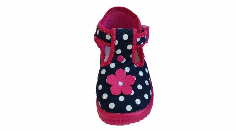 Zetpol Daria virágos vászoncipő - gyerekcipő webáruház ... 002af8b209